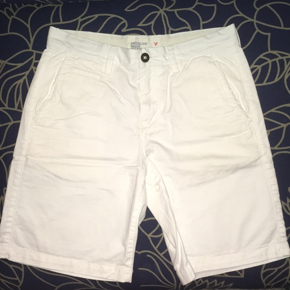 c9d4d9fb American Eagle Outfitters Shorts | Aeo White Prep Fit Size 30 | Poshmark